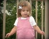 Rosebud Pink Linen - A Good Day OVERALLs