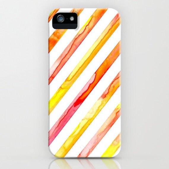 Geometric Phone Case - Diagonal Lines - Abstract Art - Designer iPhone Samsung Case