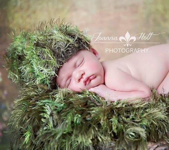 Hand Knit Baby Hat Knit Infant Knit Hat Baby Knit Hat Newborn Hat Knit Baby Prop Green or Other Color