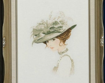 John Clayton - Elegance Series - Charlotte -  A Cross Stitch Chart by Heritage Crafts