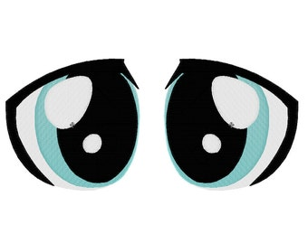 PES FILES: Doctor Whooves Eyes - Embroidery Machine Design
