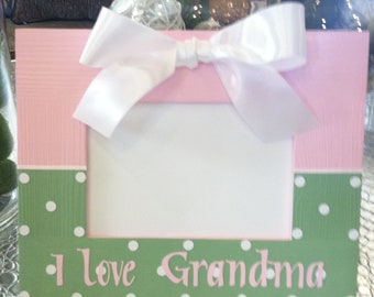 Grandma or Nana Picture Frame Personalized