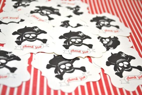 Pirate Sticker Labels