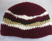 Bacon Beanie - crocheted - Made to Order