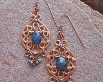 Rustica Earrings Intermediate Tutorial
