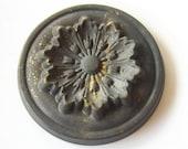 Vintage Brass Floral Stamping