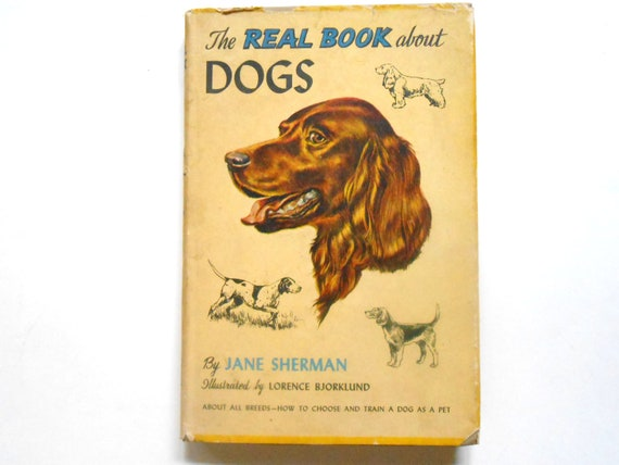 The Real Book About Dogs, a Vintage Children's Book