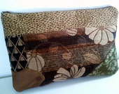 Upholstery Clutch Purse, Upholstery Fabric Clutch Bag, Clutch Handbag