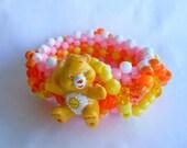 Care Bear Sunshine Kandi Cuff