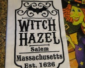 Wtich hazel kitchen towel