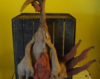 Handmade Extreme Primitive Turkey