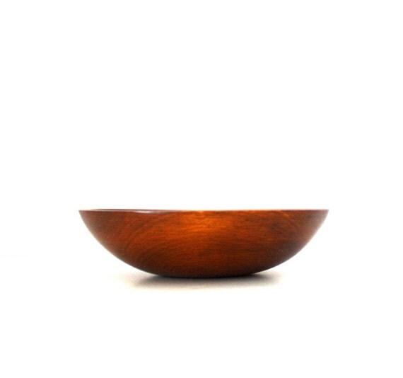 Vintage Large WOODEN Bowl by Munsing
