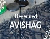 Reserved to Avishag