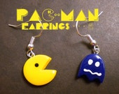 Pac-Man Earrings - Pick Your Ghost