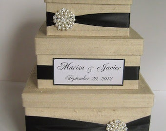 Wedding Gift Box, Card Box, Money Holder  - Custom Made