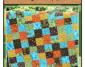 PDF Baby Quilt Pattern Sandbox Treasures Carlene Westberg Designs