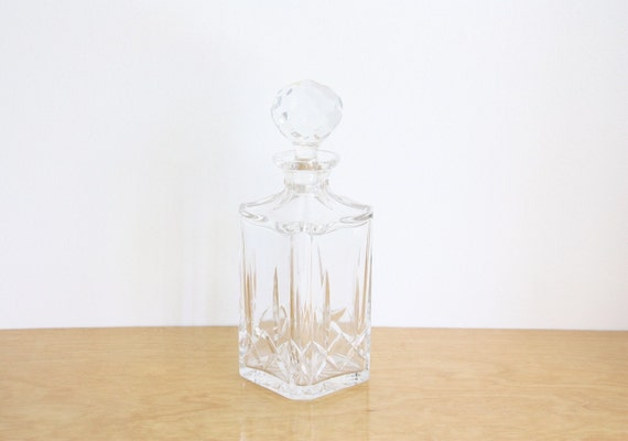 Vintage Leaded Crystal Decanter