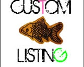 Custom Listing for Hannah CrazyHawk