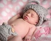 Crochet Baby Elephant Set