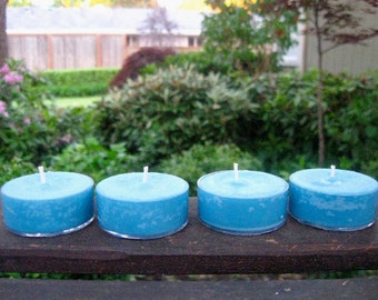 Portland Rain Soy Tea Light Candles