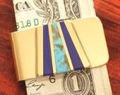 Inlaid Money Clip- Unique Man Gift - Moneyclip MC8