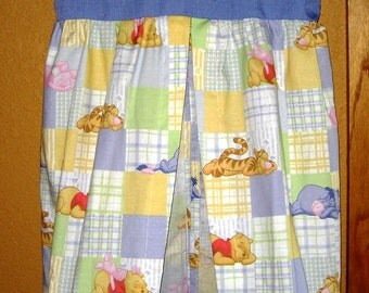 Baby Diaper Stacker Blue Handmade Winnie The Pooh and Friends Free Shipping