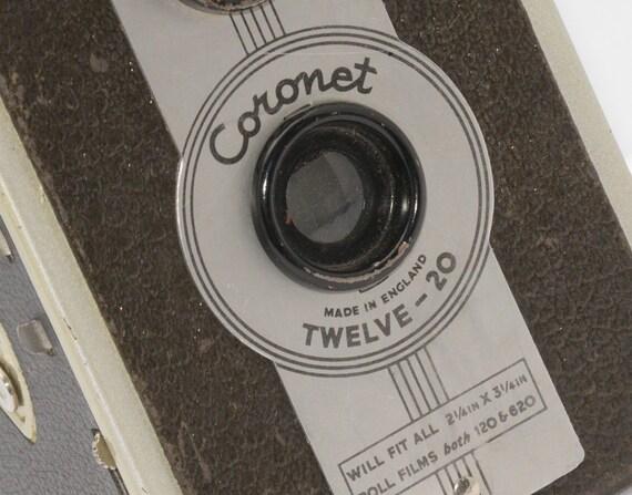 Vintage Camera Coronet Twelve-20, Tag 329