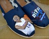 Team Spirit Custom TOMS Shoes - Basketball