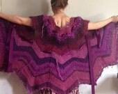 Destash Yarn: Boho Sweater in Purple