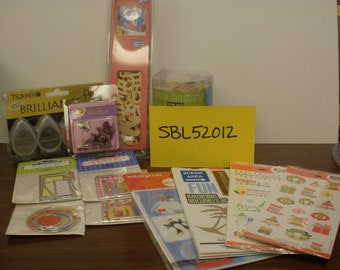 SCRAPBOOK  Destash  SBL52012