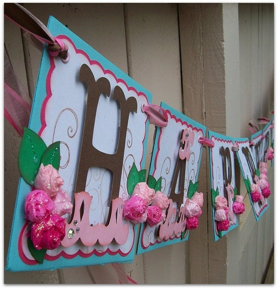 Items Similar To Happy Birthday Banner