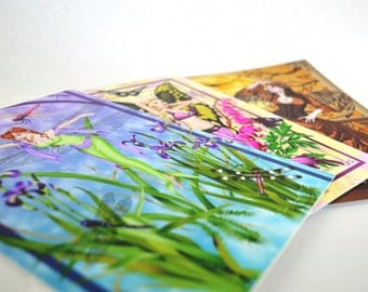 Set of 3 - Fairy Greeting Cards