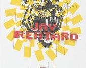Jay Reatard Silkscreen Concert Poster