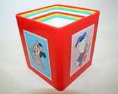 Vintage Disney Babies Nesting Blocks Made in Italy
