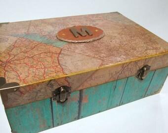 Heirloom Box - Monogrammed - Custom