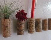 Wine Cork Magnet Vases (Set of 4)