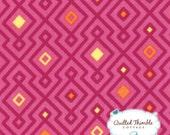 Cuzco by Kate Spain - Woven Geo Fuchsia (27136-12) - 1 Yard