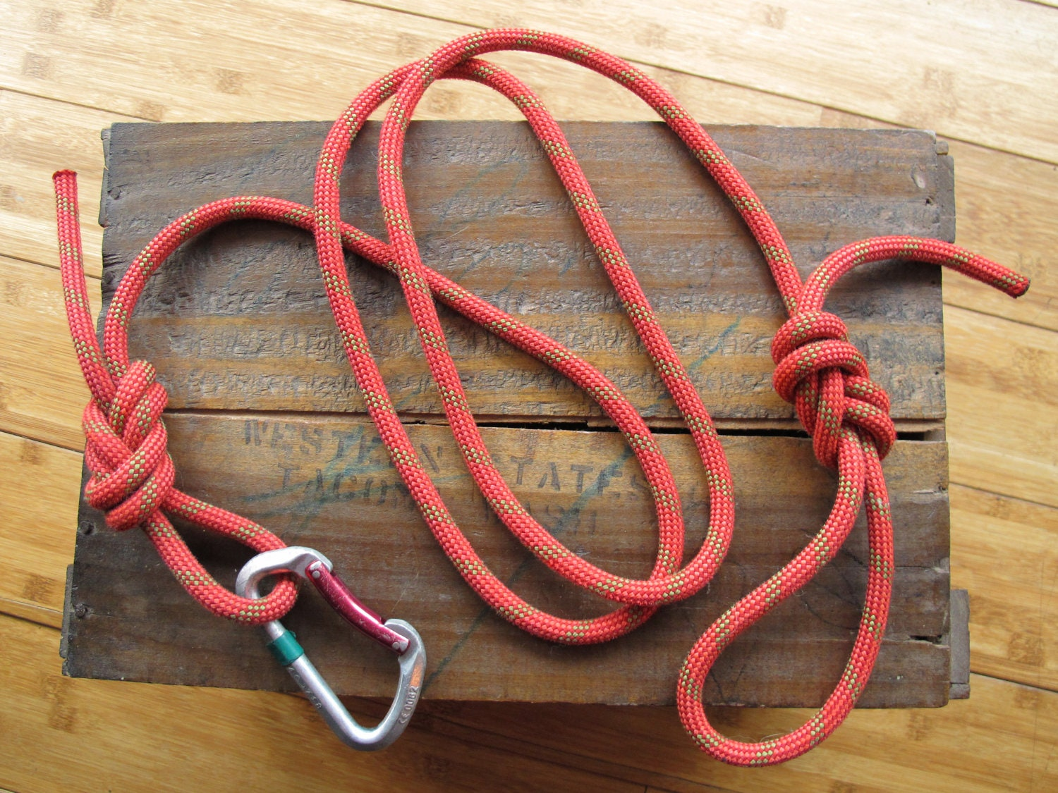 how to clean climbing rope