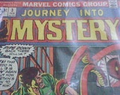 1973 Journey into Mystery Marvel Comics Group Issue 3 Februrary