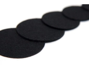 10PCS 60mm(2 3/8'')  Nonwoven Fabric Kraft Circle for  Flower or Corsage Professional Finished.