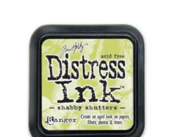Tim Holtz Distress Ink-Shabby Shutters