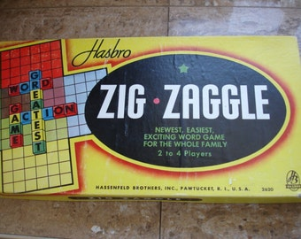 Vintage 1950's Zig Zaggle Game