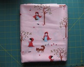 A Walk In The Woods, Little Red, Aneela Hoey, ONE yard, pink