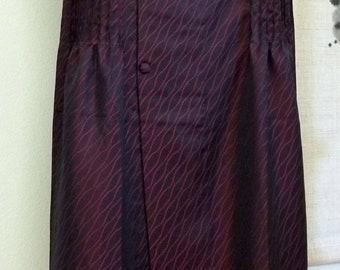 Michiyuki Dress and Matching Purse