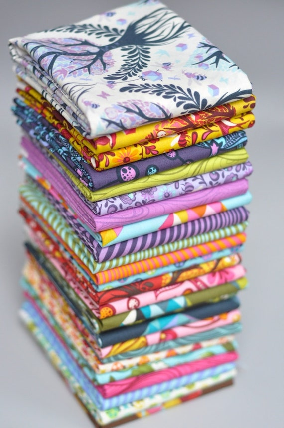Tula Pink's The Birds and The Bees for Free Spirit Westminster COMPLETE 29 Fat Quarter Bundle