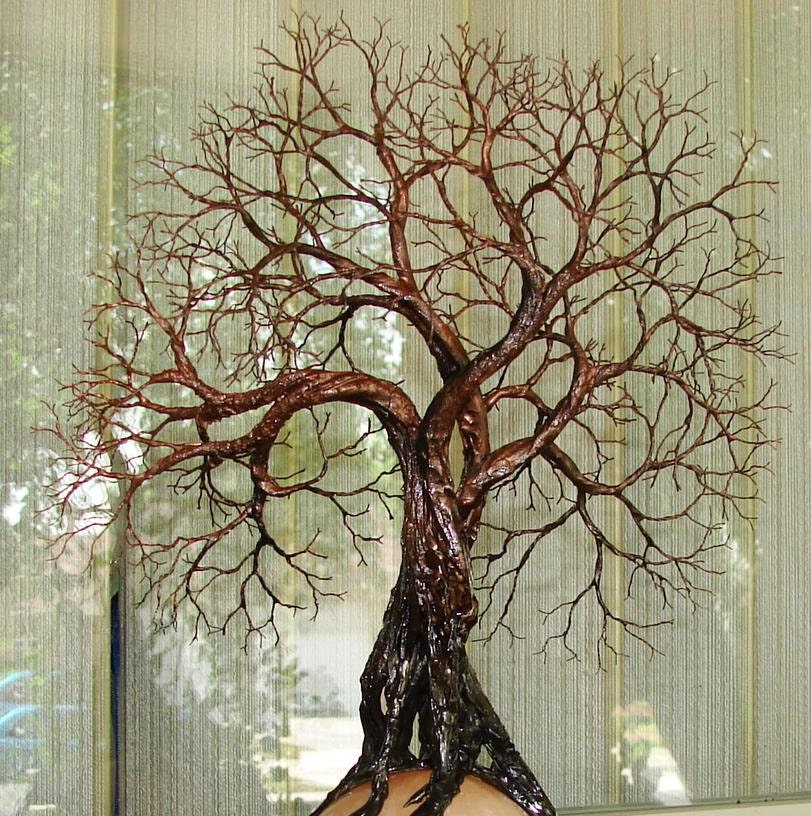 Wire Tree Of Life Ancient Grove Spirits Sculpture Harvest Moon