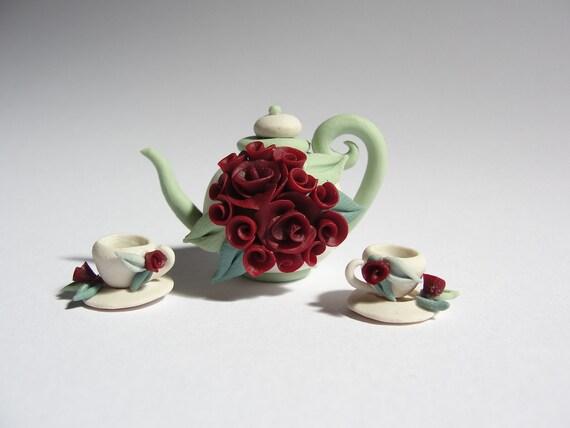 Minyatür çay takımı