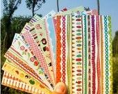 8 Sheets Korea Pretty Sticker Set -Rainbow Sticker Angle Sealing Sticker