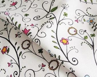 Cotton Linen Fabric Cloth -DIY Cloth Art Manual Cloth 55x19 Inches