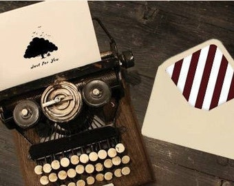 1Sets Kraft Paper Envelope And Carrd Sets- Just For You